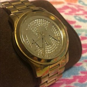 Michael Kors Runway Logo Watch